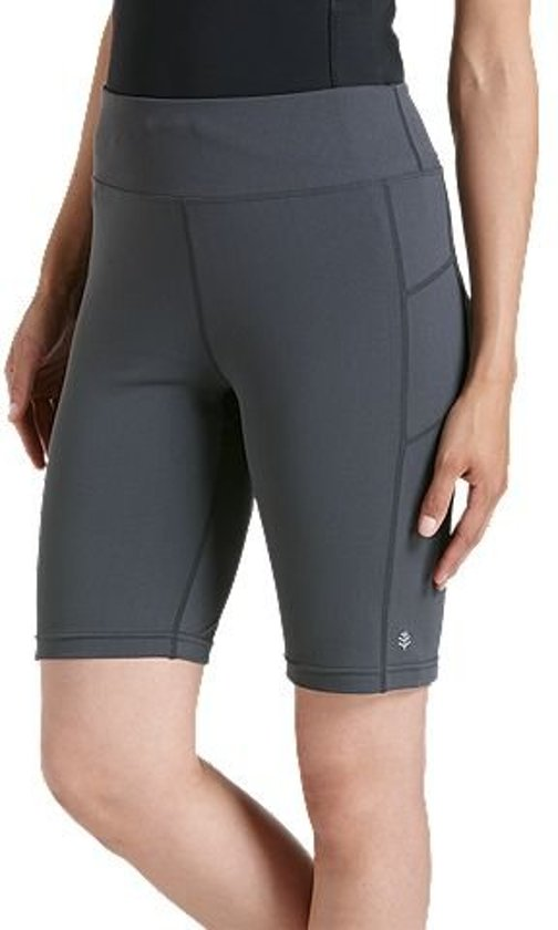 Coolibar UV zwem Sport Legging Dames - Grijs - Maat 42