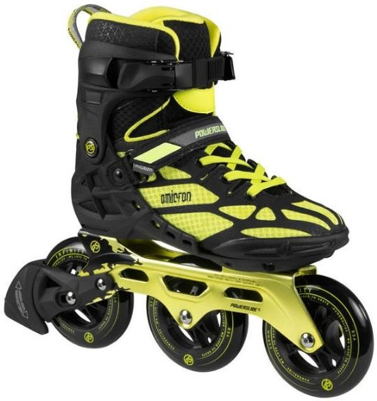 5acd9e8f839 Powerslide Inline Skates Omicron 3-wheel Zwart/geel Maat 44