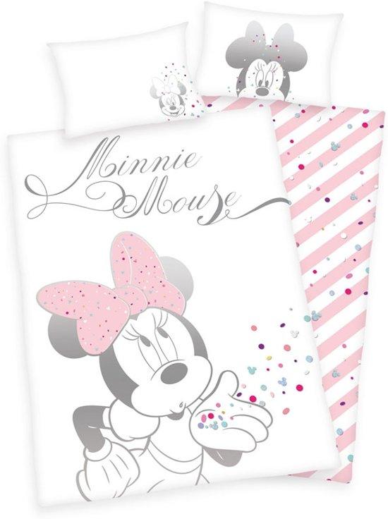 Minnie Mouse Dekbedovertrek Confetti Junior 100x135cm Katoen