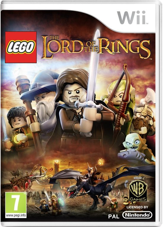 LEGO: Lord Of The Rings - Wii