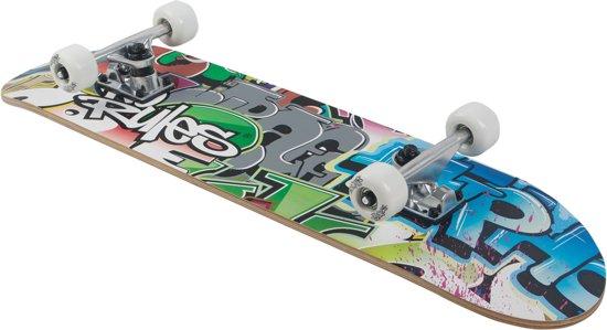 No Rules Graffiti skateboard + rugzak