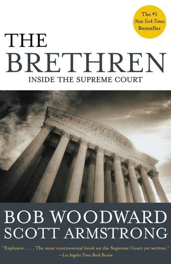 Boek cover THE Brethren van Bob Woodward (Paperback)