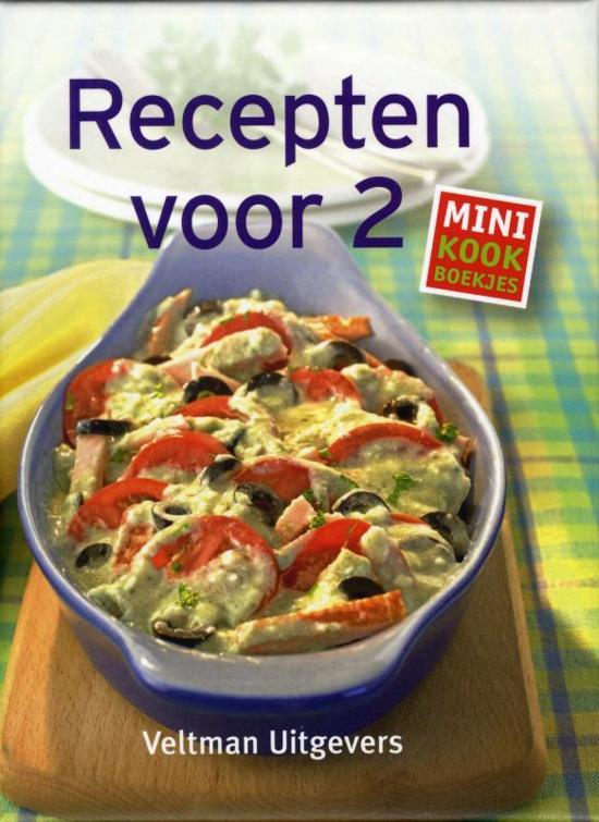 Afbeelding van Mini kookboekjes - Recepten voor twee