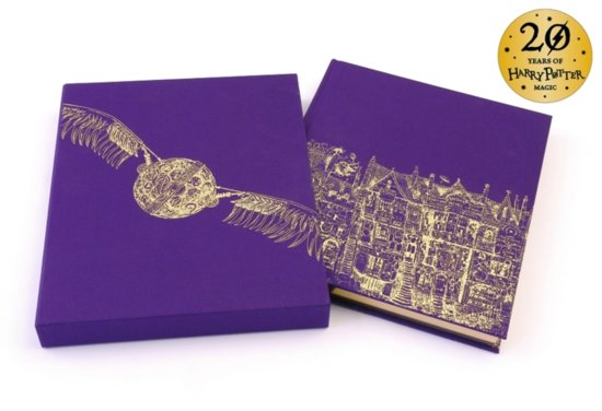 Harry potter (01): harry potter and the philosopher's stone (deluxe illustrated slipcase edition)