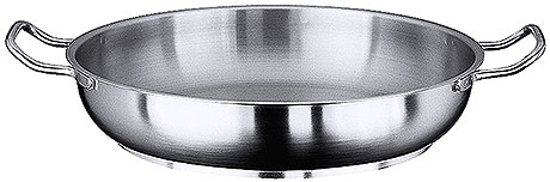 Paellapan Inductie Rvs Handvatten Ø40cm