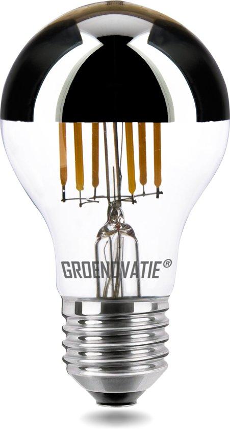 E27 LED Filament Kopspiegellamp 6W Warm Wit Dimbaar