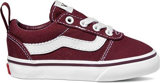 eef3cb011f5 bol.com | Vans TD Ward Slip On port rood sneakers baby