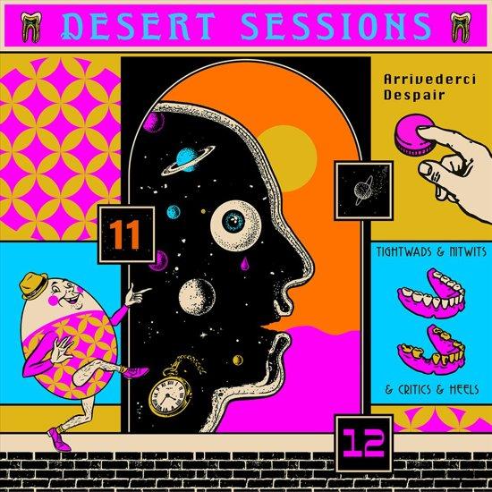CD cover van Volume 11 & 12 (LP) van Desert Sessions