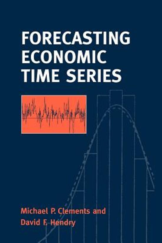 forecasting and time series Awarded outstanding academic book by choice magazine in its first edition, forecasting, time series, and regression: an applied approach now appears in a fourth edition that illustrates the vital importance of forecasting and the various statistical techniques that can be used to produce them with.