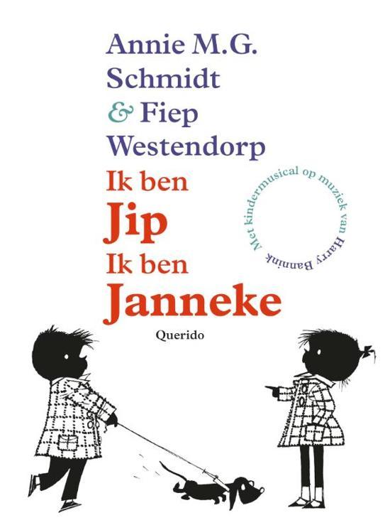 Cover van het boek 'Ik ben Jip, Ik ben Janneke' van A.M.G. Schmidt