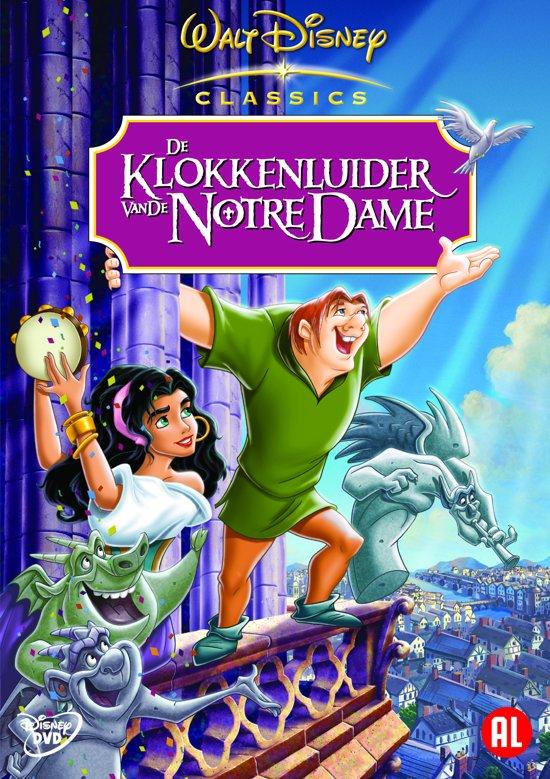 DVD cover van Klokkenluider Notre Dame