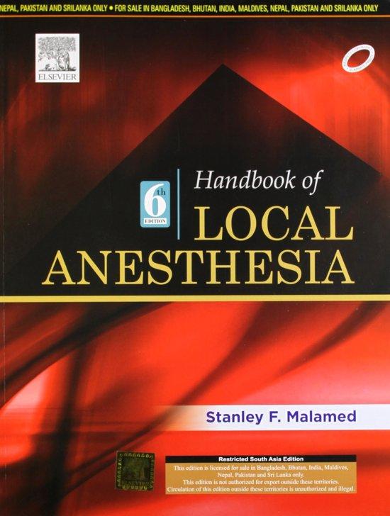 Handbook of Local Anesthesia,6e