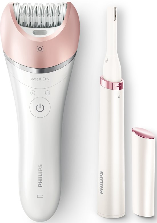 Philips Satinelle Advanced BRP535/00 - Epilator + gezichtstrimmer