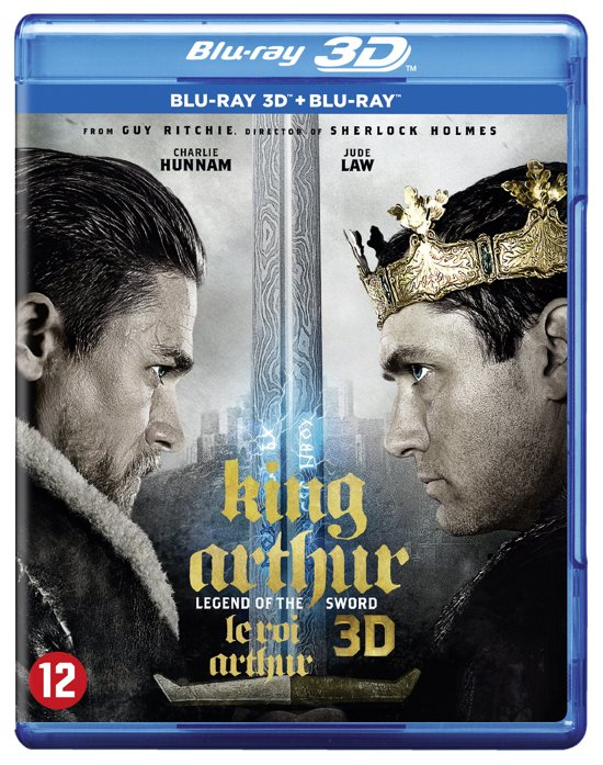 DVD cover van King Arthur : Legend of the Sword (2017) (3D+2D Blu-ray)