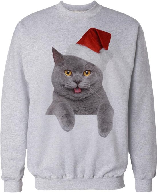 Bolcom Kersttrui Katten Leunende Kat Xxl Speelgoed