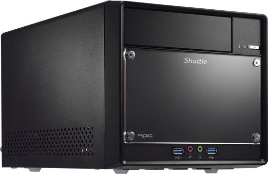 Shuttle SH110R4 PC/workstation barebone Desktop Zwart Intel® H110