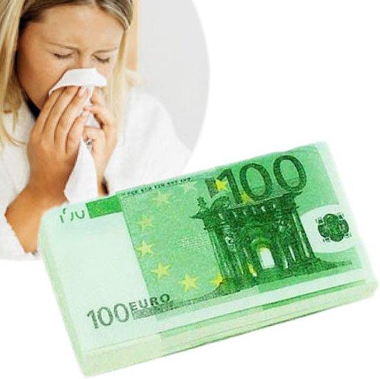 100 Euro Papieren Zakdoeken