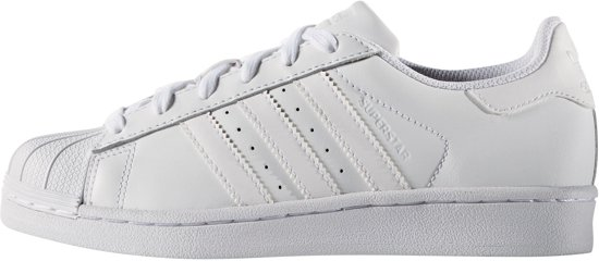 9832ab9e1ad 36 Sneakers Kinderen Unisex Wit Adidas Foundation Superstar Maat 6Wqn00B
