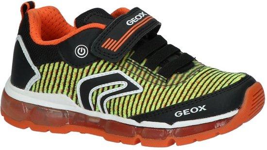 5ca9f1a72d1 bol.com | Geox Jongens Sneakers J8244a - Oranje - Maat 28