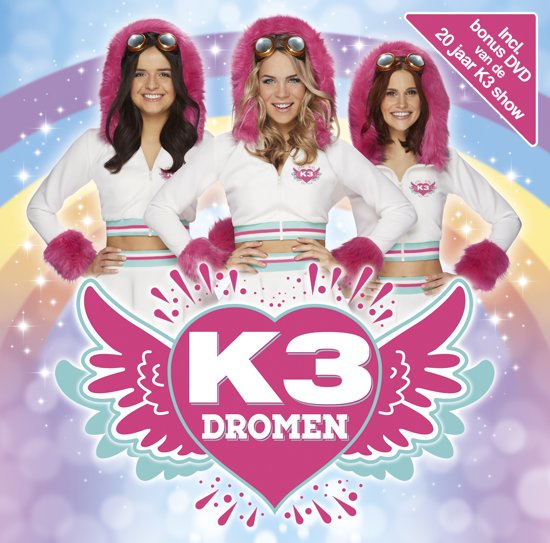 CD cover van K3 CD - Dromen van K3
