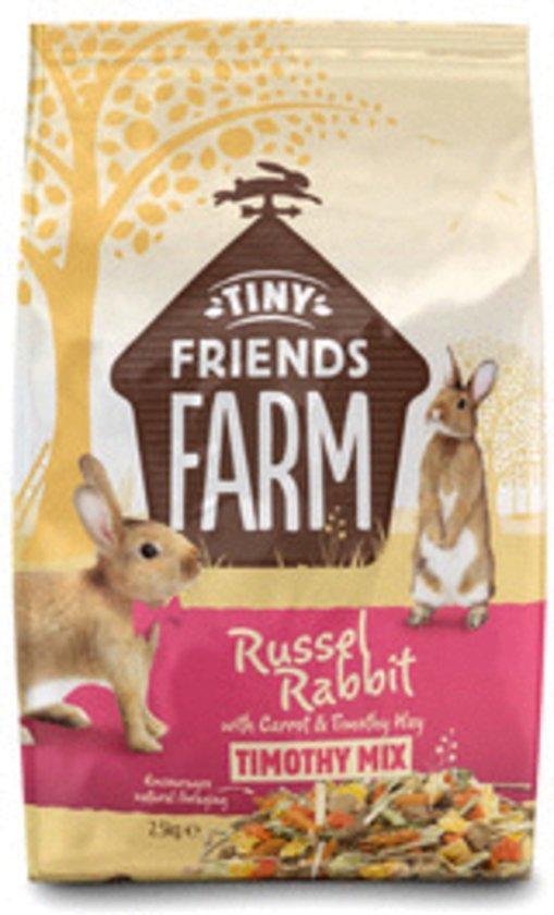 Supreme Tiny FARM Friends Carrot Konijnenvoer - 2.5 kg