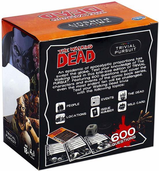 Trivial Pursuit Walking Dead - Engelstalig Spel