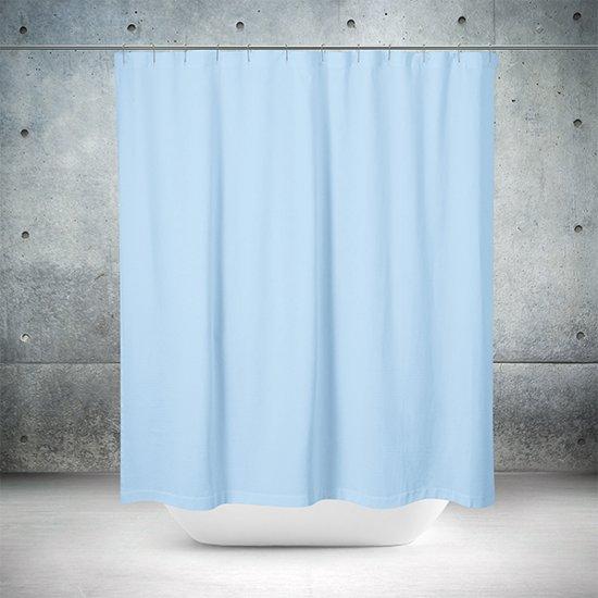 Roomture - douchegordijn - Blue wall - 180 x 200