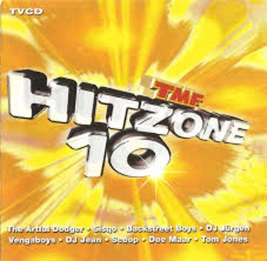 CD cover van Hitzone 10 van various artists