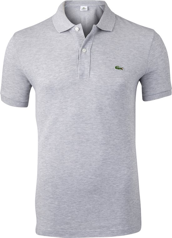 Lacoste Polo Piqué Slim Fit Silver Shine - L