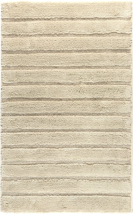 Casilin California - Anti-slip Badmat - Beige - 60 x 100 cm