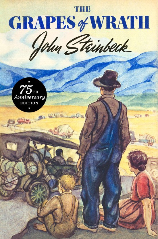 the theme of the dust bowl in the grapes of wrath by john steinback