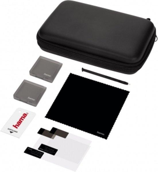 Hama 8in1 starterset PURE voor New 3DS, zwart kopen