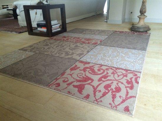 Rood Tapijt Aanbiedingen : Bol.com goedkoop vloerkleed tapijt trendy patchwork 05 160x220cm