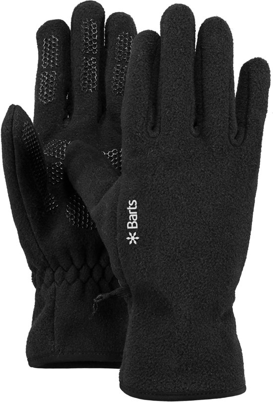 bol com barts fleece gloves winter handschoenen m 8 0 blackbarts fleece gloves winter handschoenen m 8 0 black
