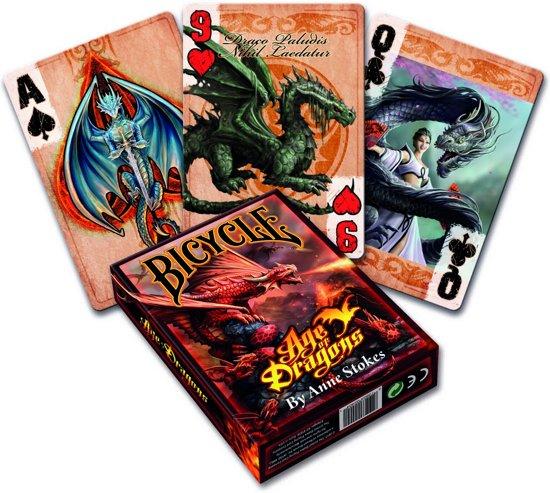 Pokerkaarten Age of Dragons Anne Stokes :: Bicycle