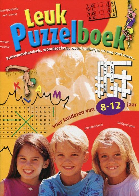 c596190a37e bol.com | Leuk Puzzelboek - Voor kinderen van 8 tot 12 jaar - 4 ...