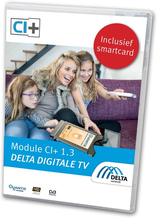 DELTA Startpakket (smartcard) met CI+ TV Module