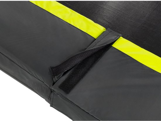 EXIT Silhouette inground trampoline ø183cm met veiligheidsnet - zwart