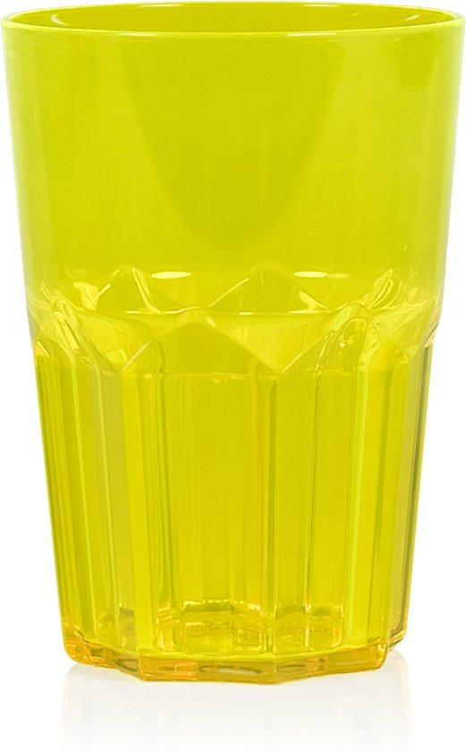 Kunststof Prestige Drinkglazen groen 400 ml - 12 stuks