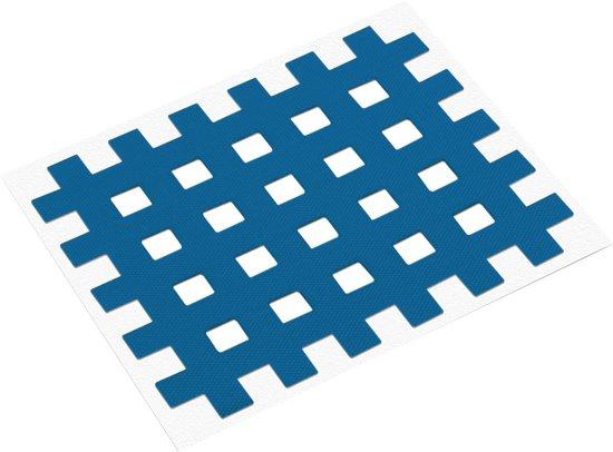 acupunctuurpleister raster 4,4 x 5,2 cm blauw