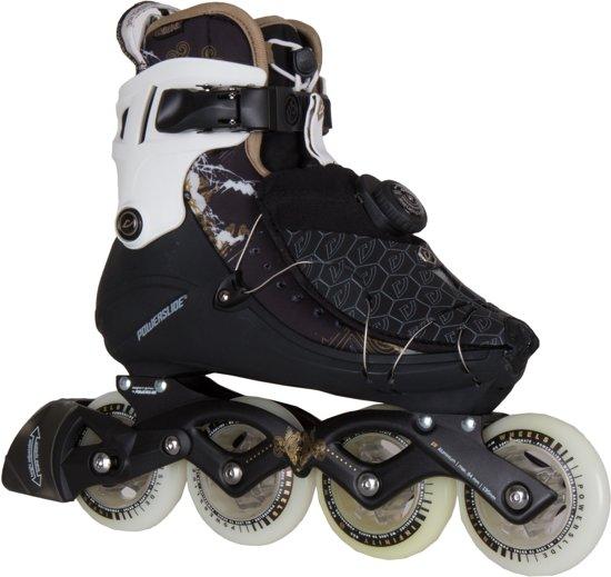 cd49cb1a206 Powerslide Vi 84 Pure Inline Skate Dames Inlineskates - Maat 39 - Vrouwen -  zwart/