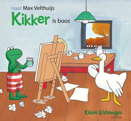 Bol Com Kikker Is Boos K Amp V Max Velthuijs