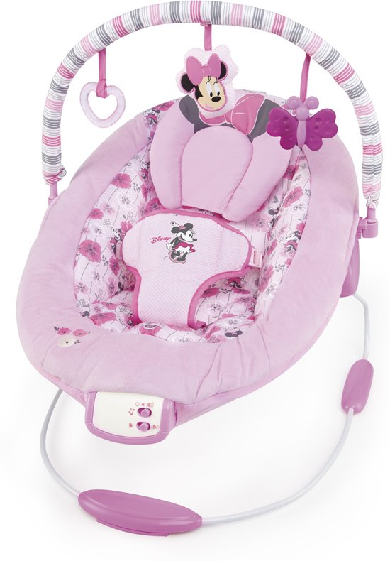 Bright Starts Schommelstoel Roze.Bol Com Bright Starts Comfort And Harmony Wipstoel Minnie Mouse