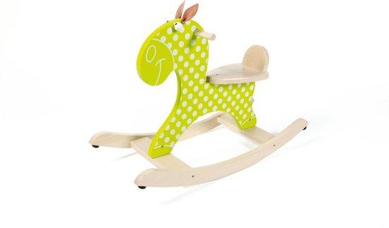 Scratch Schommeldier Paard Groen