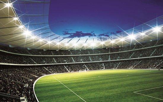 Behang Kinderkamer Voetbal : Bol.com voetbalstadion fotobehang l 152 x 104 cm