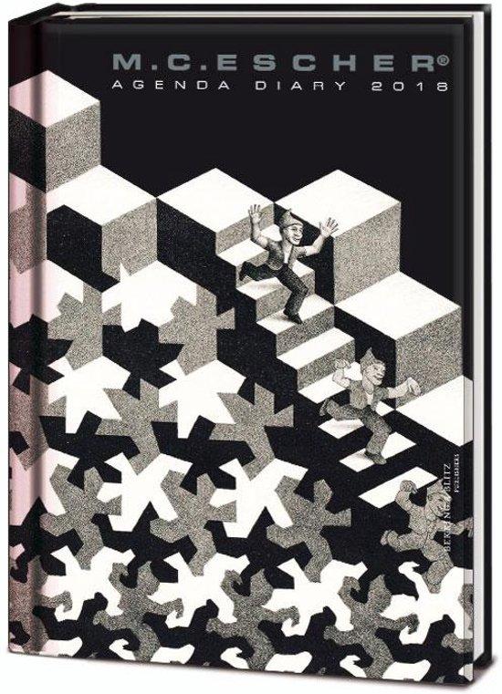M C Escher mini agenda 2018