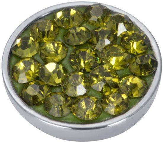 Top part olivina stone - Zilverkleurig