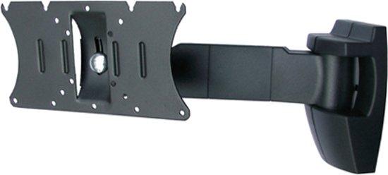 OMB Bisolution - Kantelbare en draaibare muurbeugel - Geschikt voor tv's van 10 t/m 26 inch - Zwart