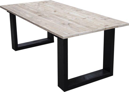 Steigerhouten tafel u model bouwpakket xsteigerhout