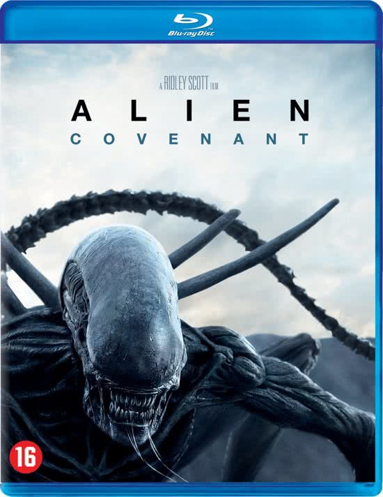 DVD cover van Alien : Covenant (Blu-ray)